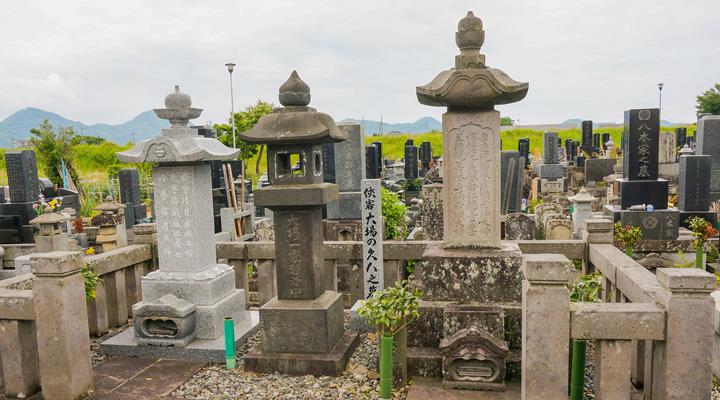 大場の久八の墓